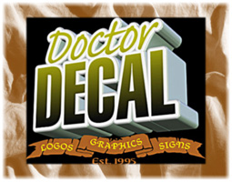 Decals Stonewall | Banners | Silk Screening | Signs | Doctor Decal